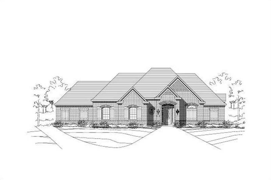 Main image for house plan # 15479