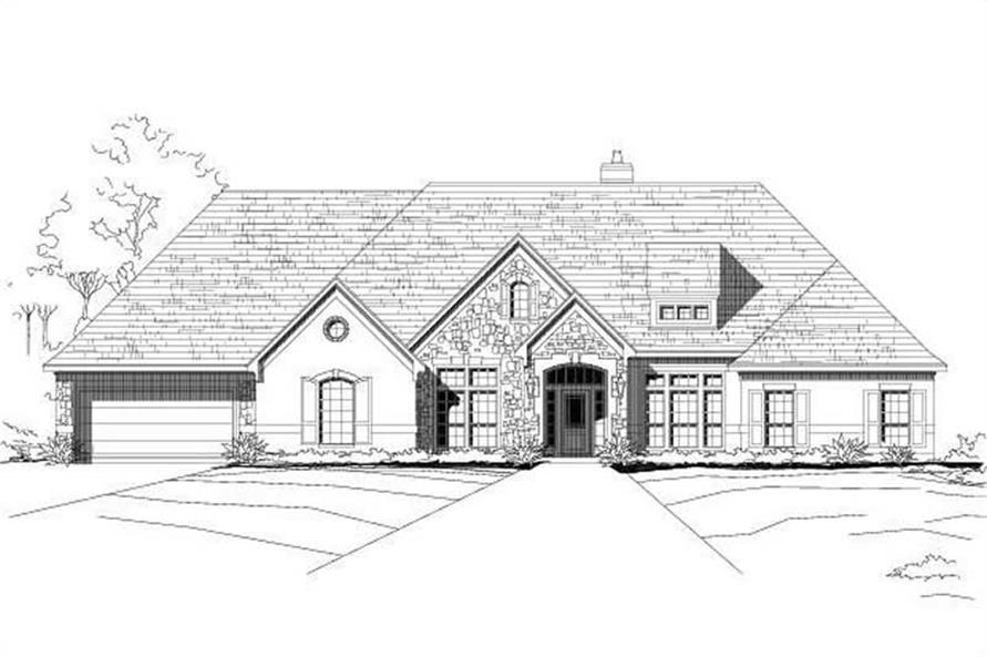 Main image for house plan # 15478