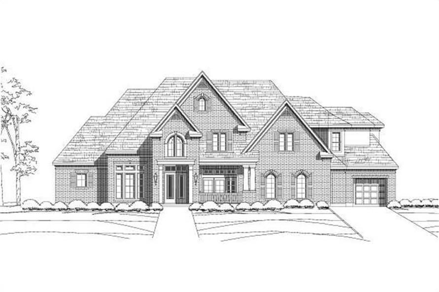 Main image for luxury house plan # 19665