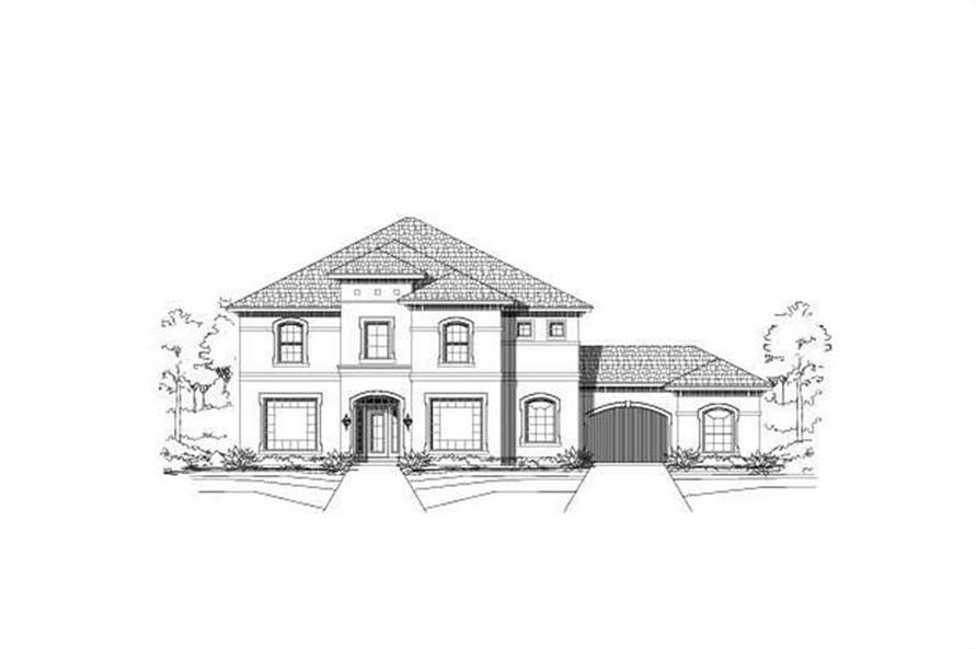 Main image for house plan # 15609