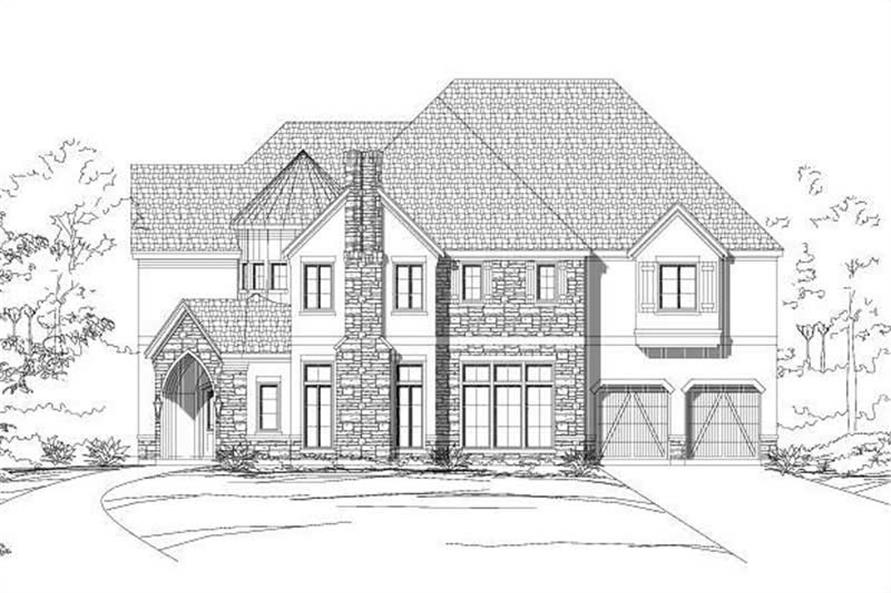 Main image for house plan # 19590