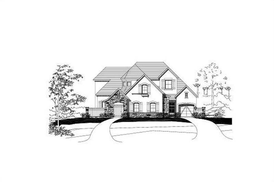 Main image for house plan # 15615