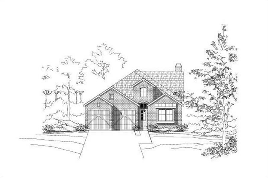 Main image for house plan # 19629