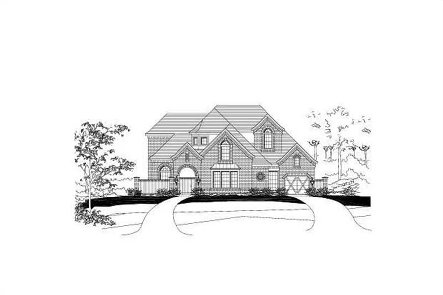 Main image for house plan # 15618