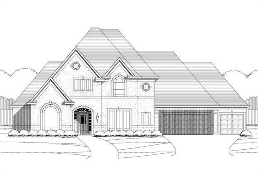 Main image for house plan # 15621