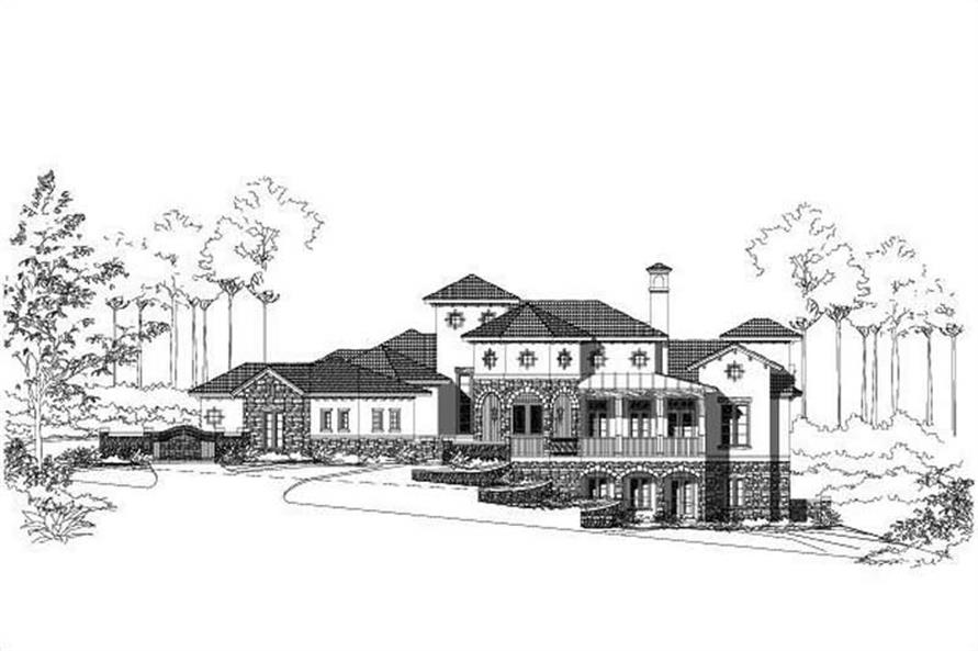 Main image for house plan # 19701