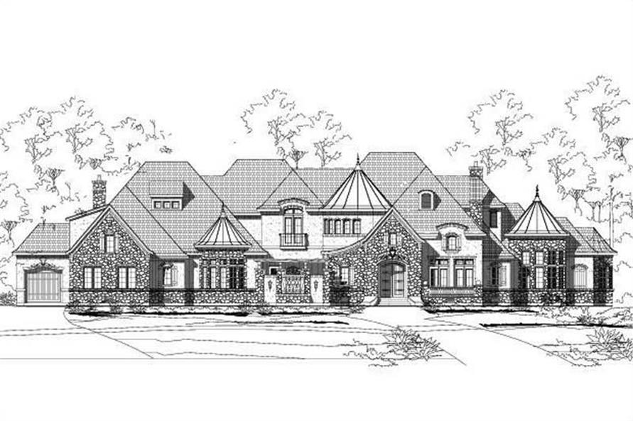 Main image for luxury house plan # 19554