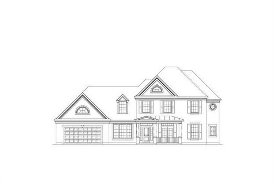 Main image for house plan # 19564