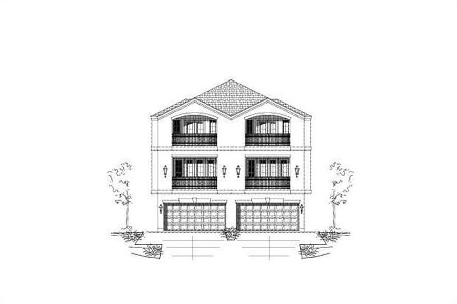 Main image for house plan # 19491