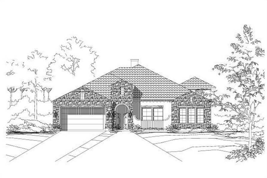 Main image for house plan # 15421