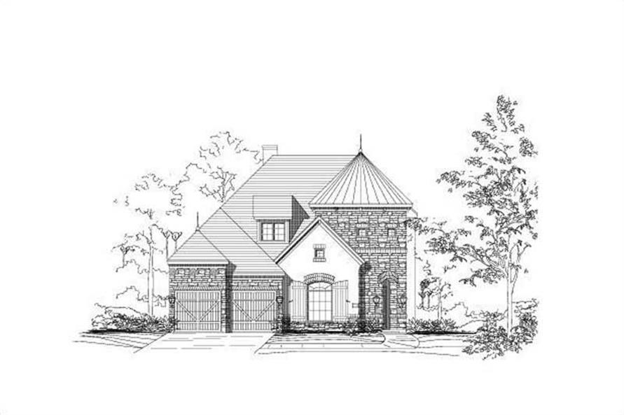 Main image for house plan # 15420