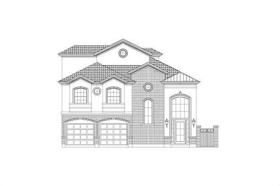 Main image for house plan # 15789