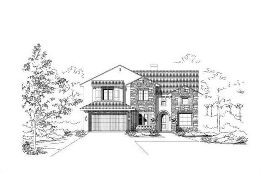 Main image for house plan # 15423