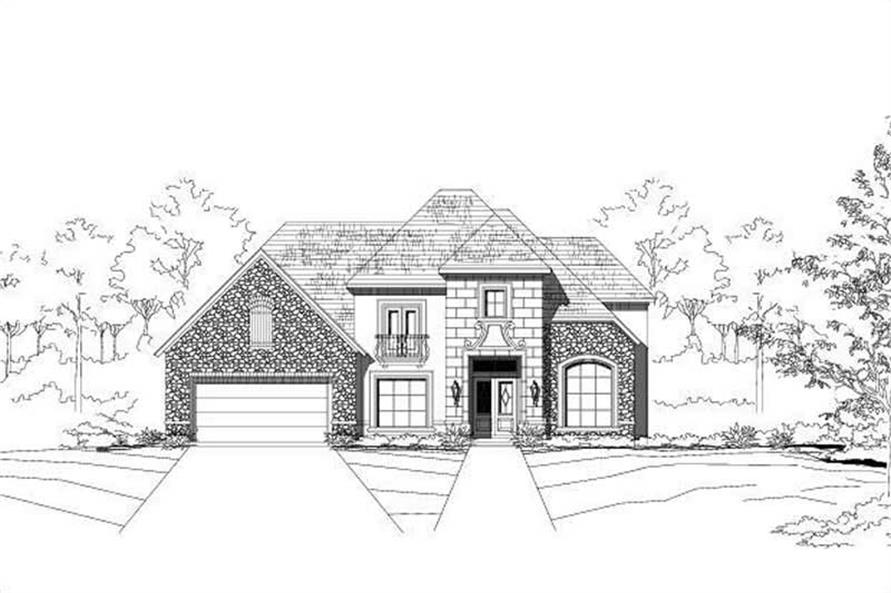 Main image for house plan # 15430