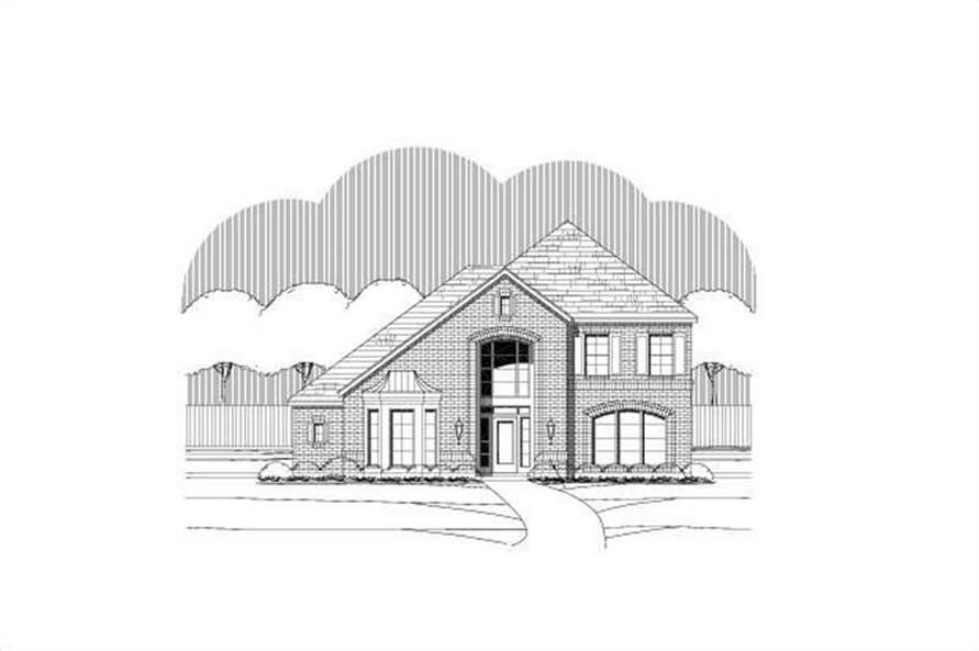 Main image for house plan # 15438