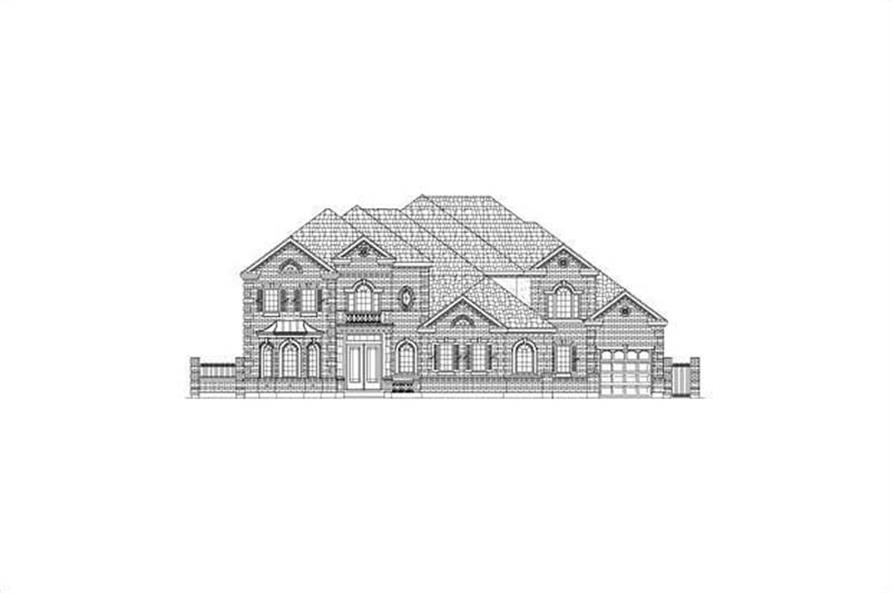 Main image for house plan # 15869