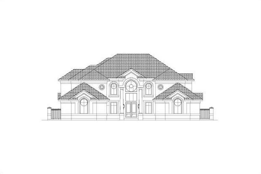 Main image for house plan # 15865