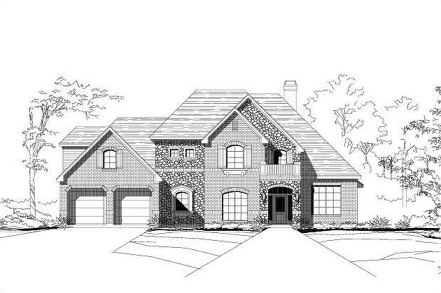 Main image for house plan # 15773