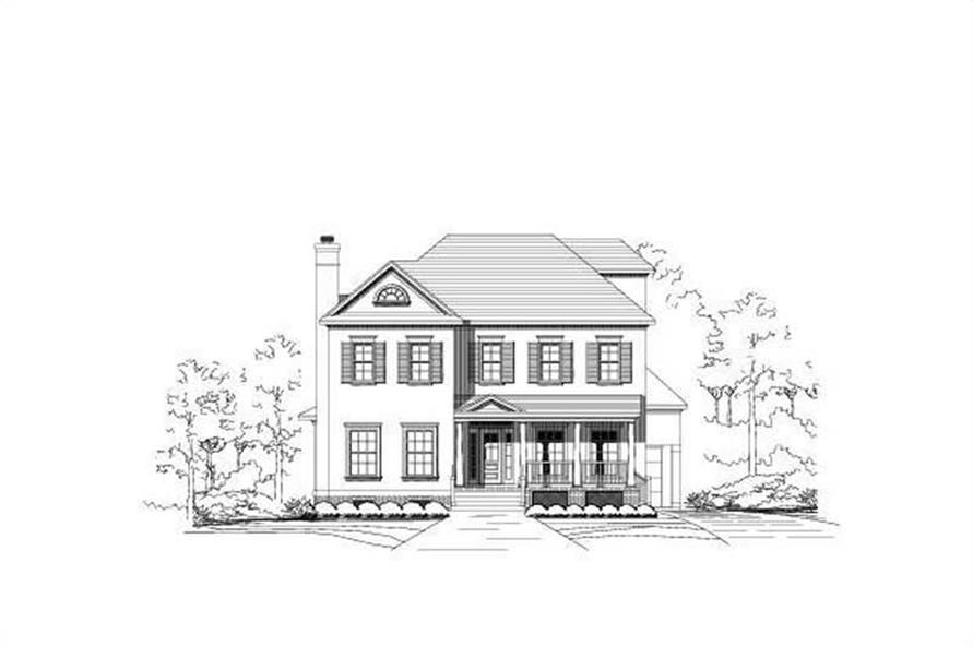 Main image for house plan # 15328