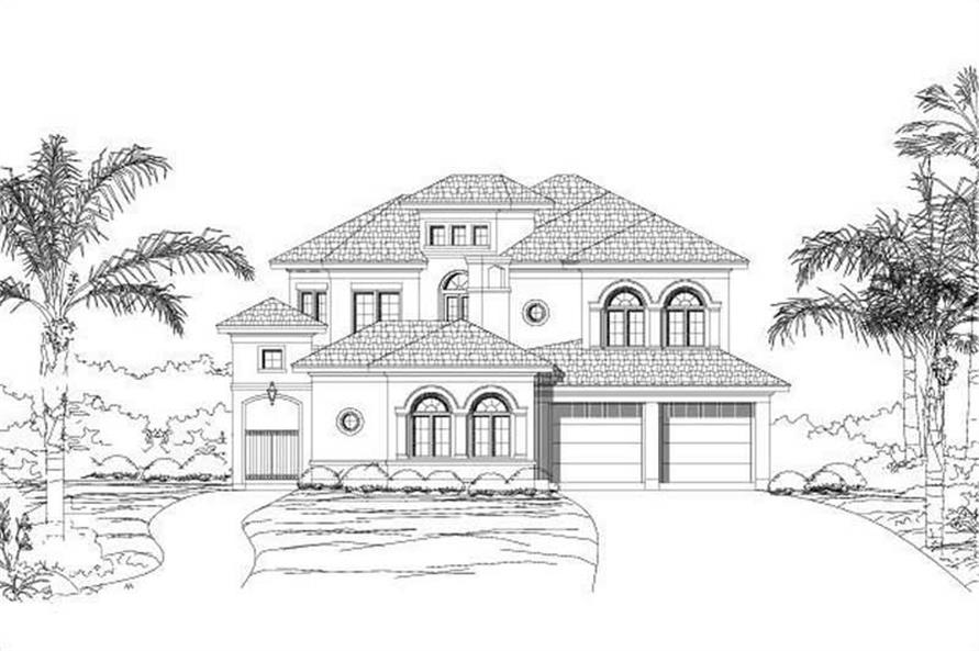 Main image for house plan # 15690