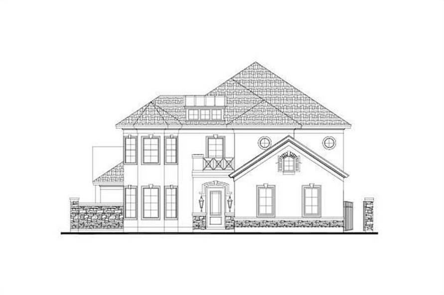 Main image for house plan # 15915