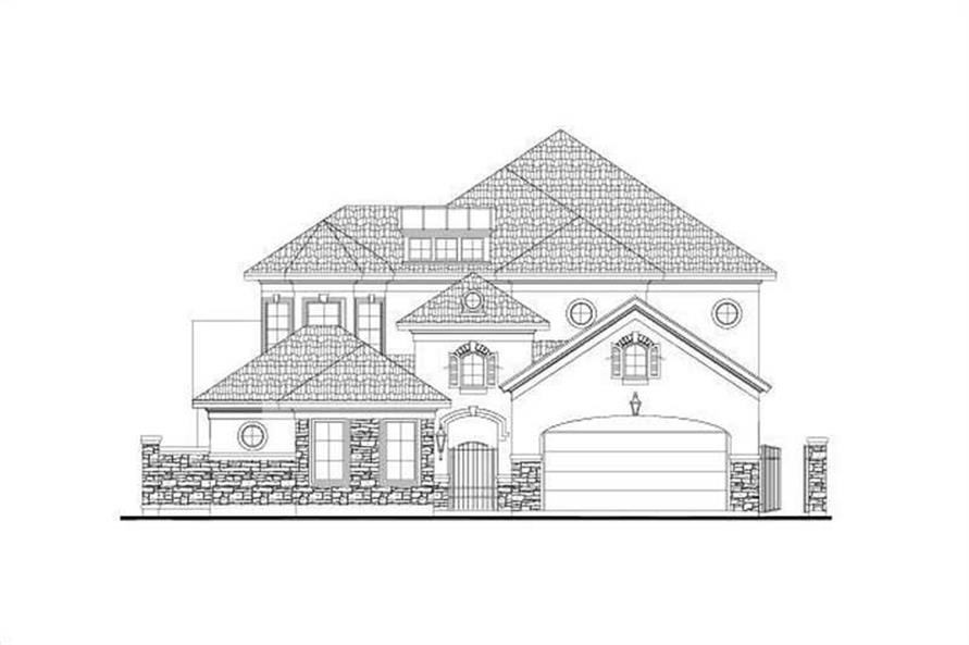 Main image for house plan # 15914