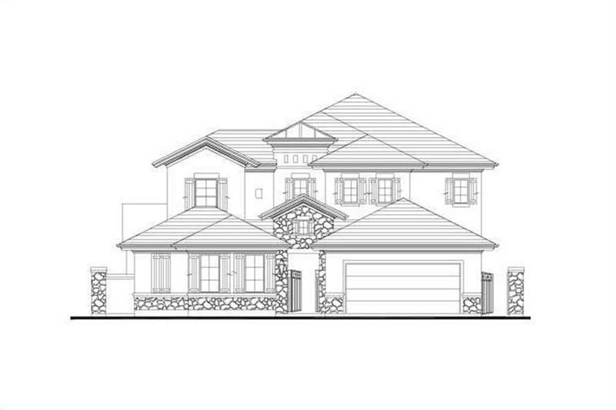 Main image for house plan # 15902