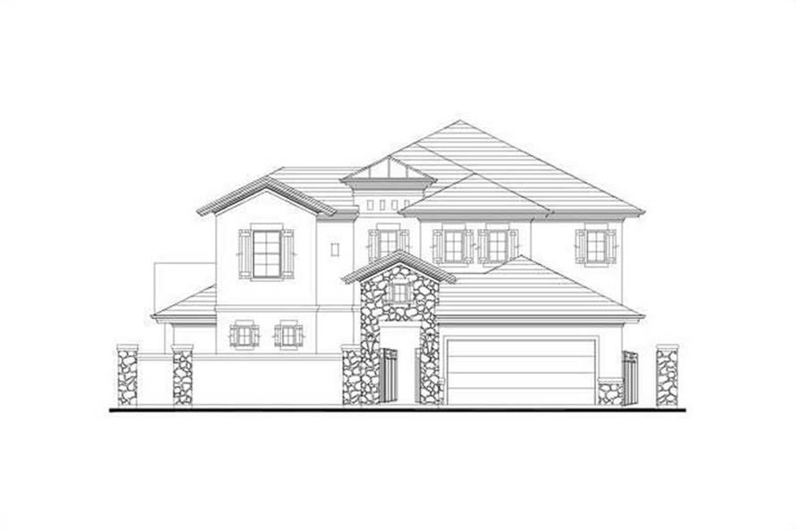 Main image for house plan # 15900