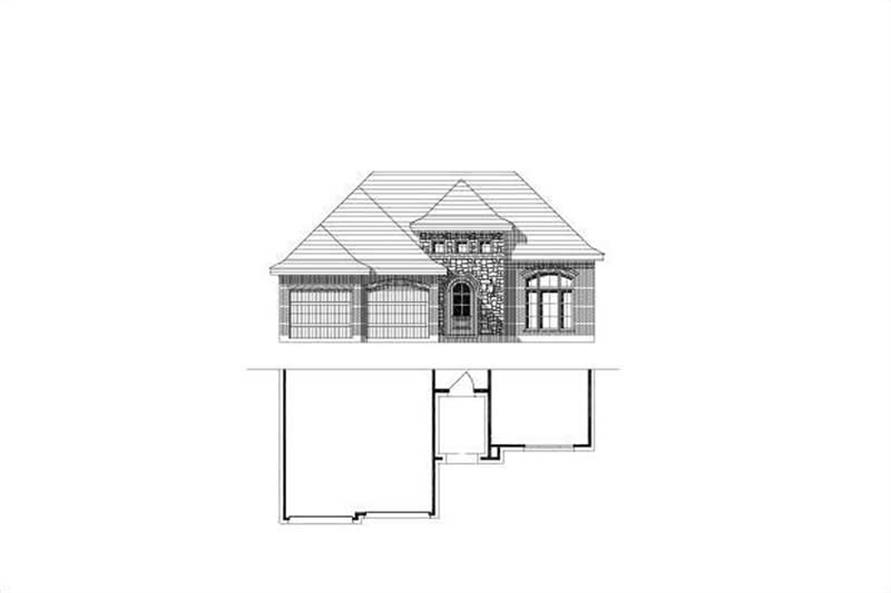 Main image for house plan # 15050