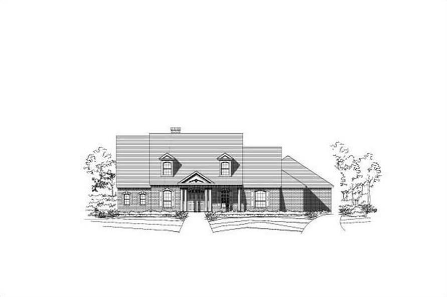 Main image for house plan # 15364