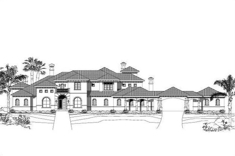 Main image for house plan # 16002