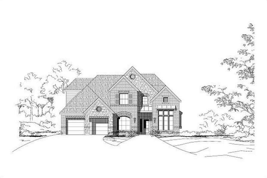 Main image for house plan # 15044