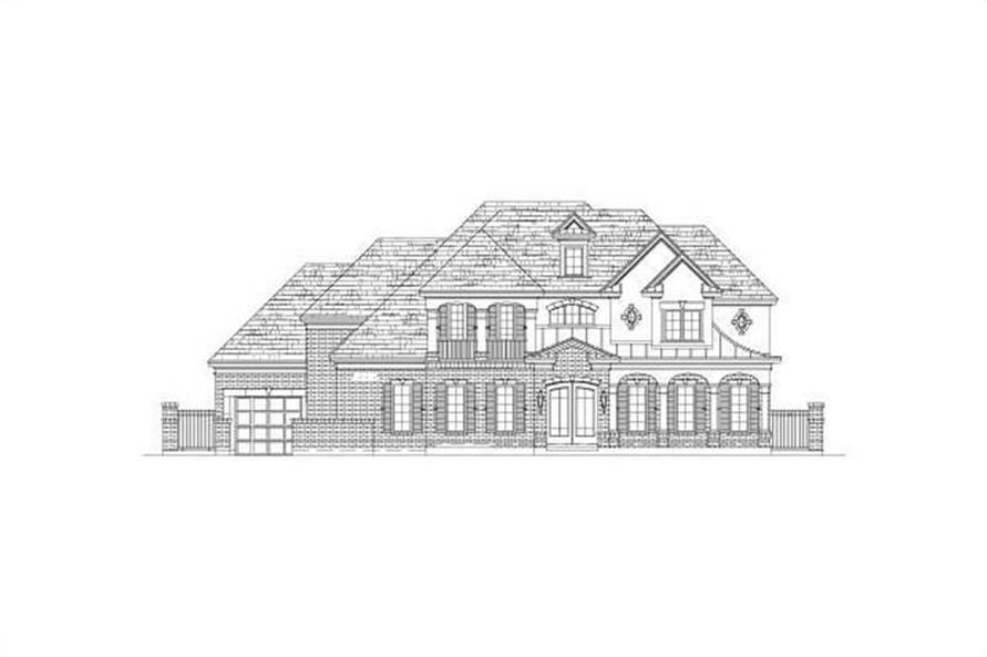 Main image for house plan # 15893