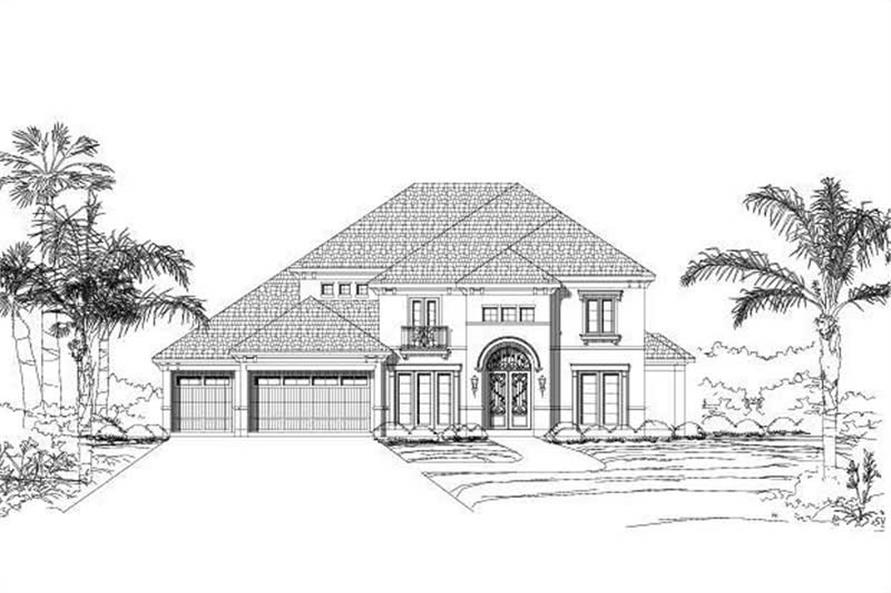 Main image for house plan # 15566