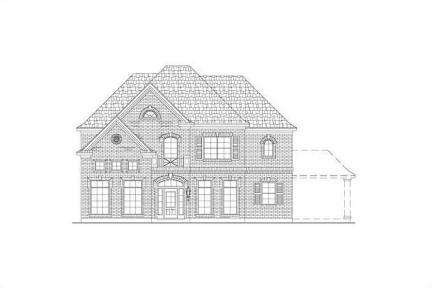 Main image for house plan # 15464