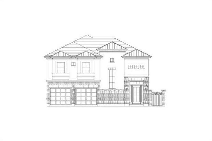 Main image for house plan # 15790
