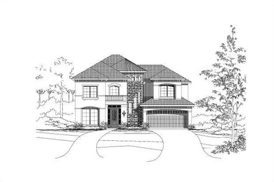 Main image for house plan # 15568