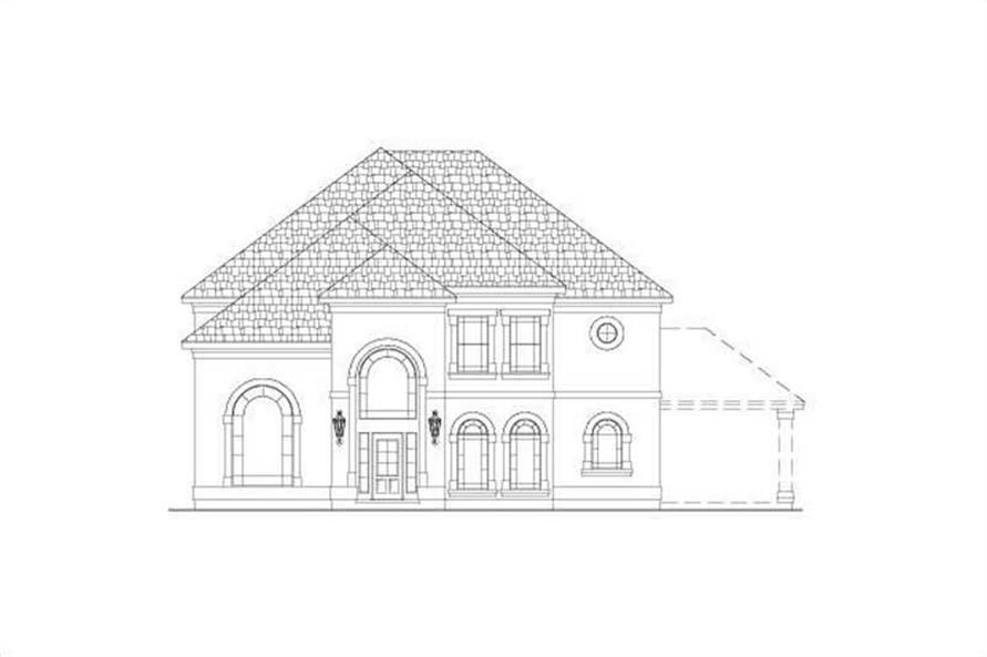 Main image for house plan # 15466