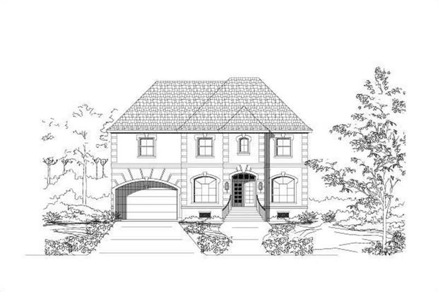 Main image for house plan # 15776