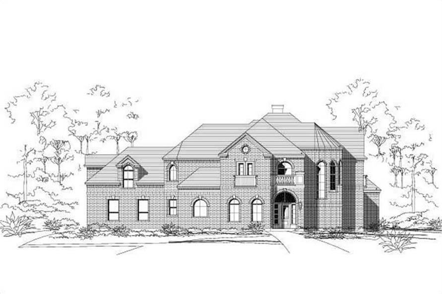 Main image for house plan # 15779