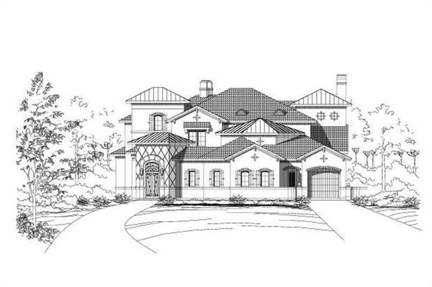 Main image for house plan # 15245