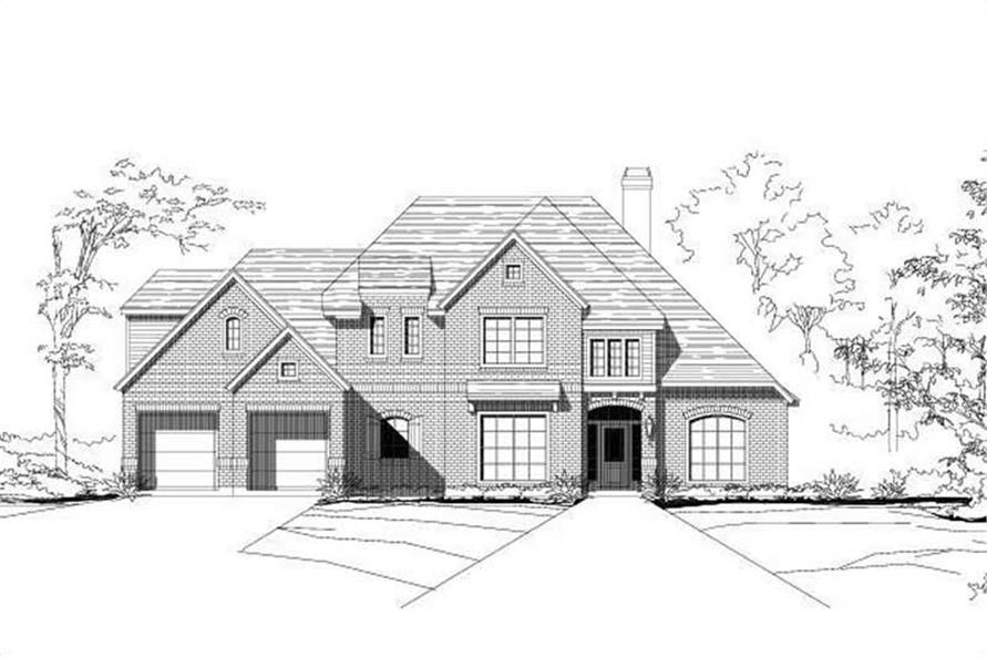 Main image for house plan # 15772
