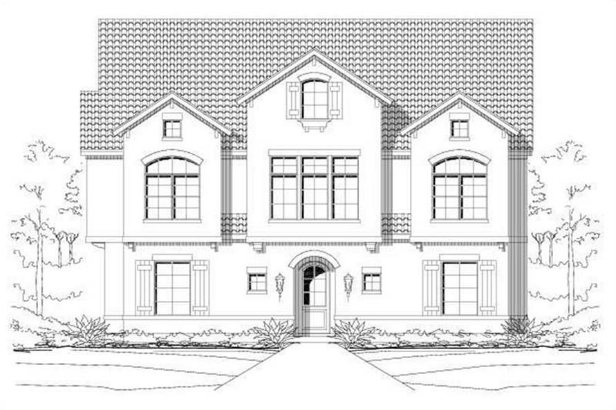 Main image for house plan # 19515