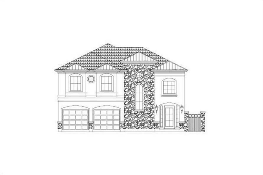 Main image for house plan # 15754