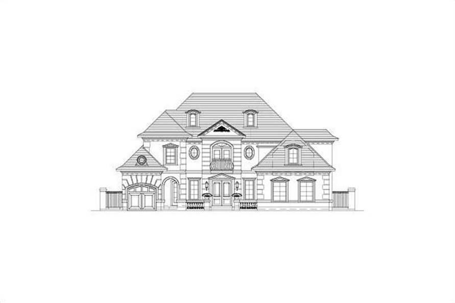 Main image for house plan # 15666