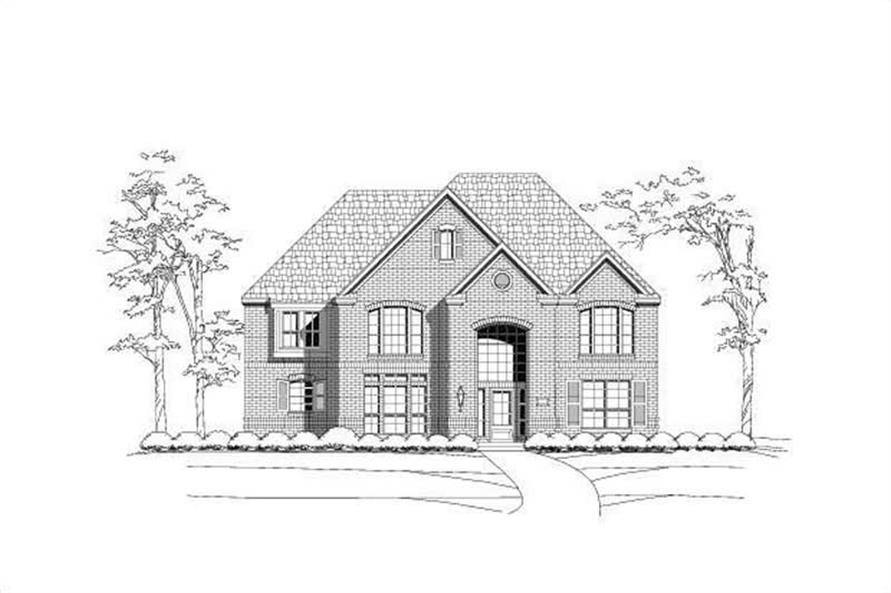 Main image for house plan # 15677