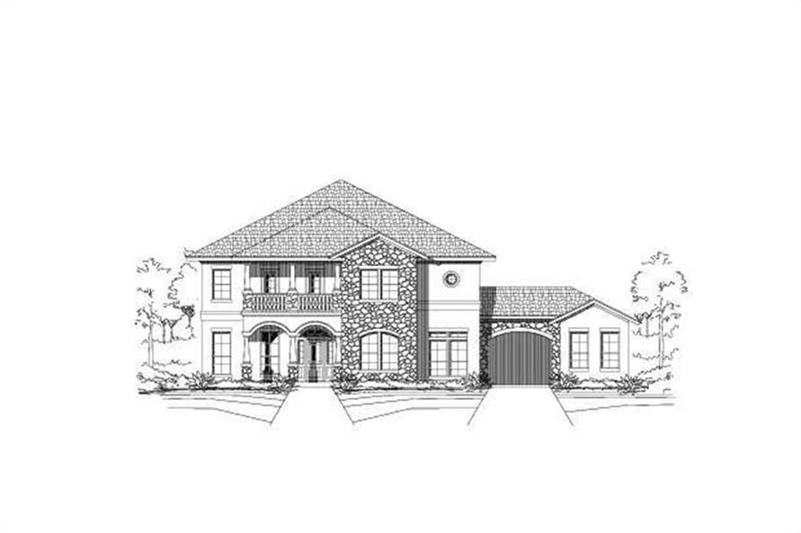 Main image for house plan # 15611