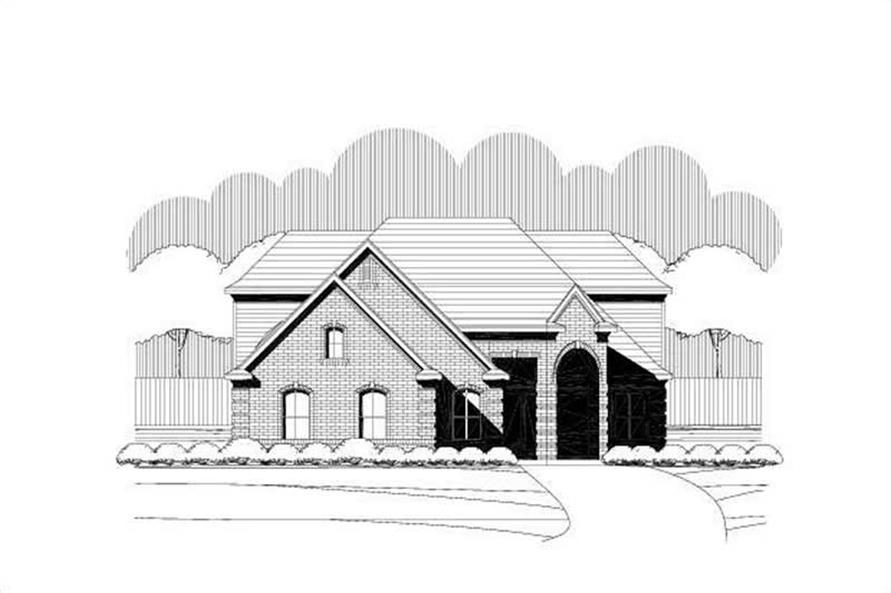 Main image for house plan # 19468
