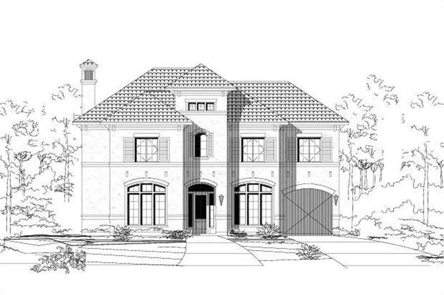 Main image for house plan # 15622
