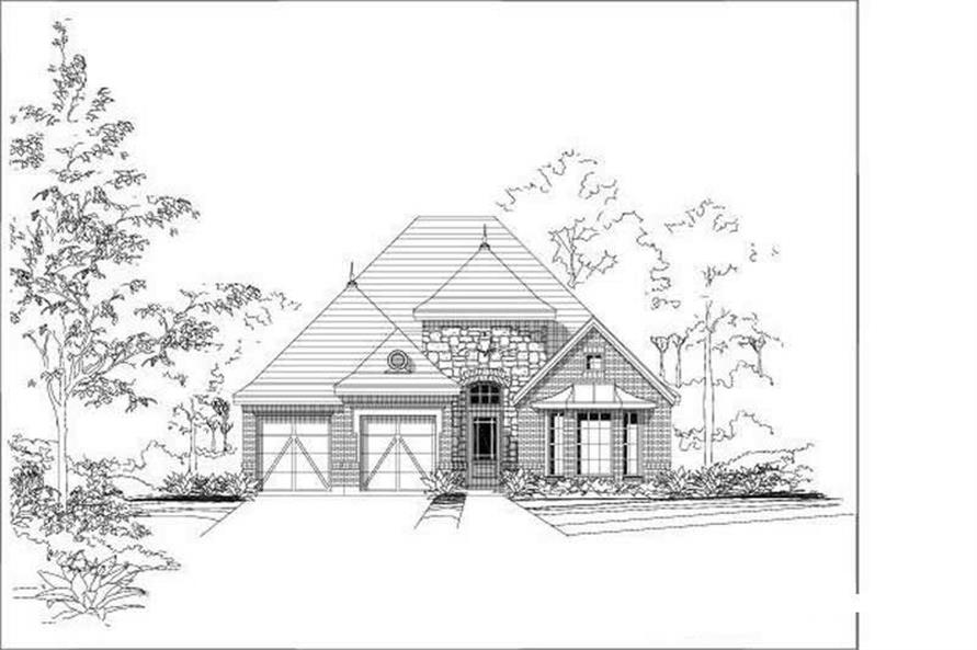 Main image for house plan # 19726